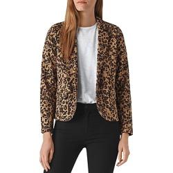 Whistles Leopard Printed Blazer found on Bargain Bro UK from Bloomingdales UK