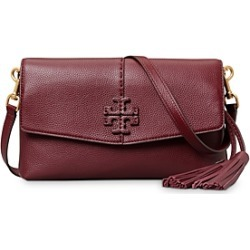 Tory Burch McGraw Leather Crossbody found on Bargain Bro UK from Bloomingdales UK