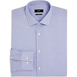 Boss Dobby Open-Check Slim Fit Dress Shirt found on Bargain Bro UK from Bloomingdales UK