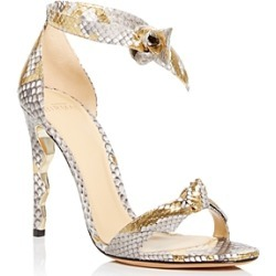 Alexandre Birman Women's Wave Clarita Snake Embossed High Heel Sandals found on MODAPINS from bloomingdales.com for USD $795.00