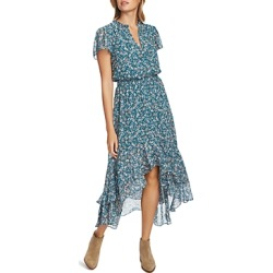 1.state Floral Print High/Low Dress
