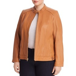 Cole Haan Plus Leather Moto Jacket found on Bargain Bro UK from Bloomingdales UK for $579.45