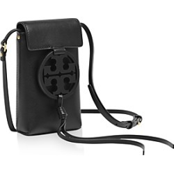 Tory Burch Miller Leather Smartphone Crossbody