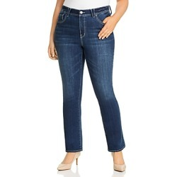 Seven7 Jeans Plus High Rise Absolute Bootcut Jeans in Pacific