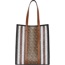 Burberry Monogram Stripe E-Canvas Portrait Tote found on Bargain Bro Philippines from bloomingdales.com for $1090.00