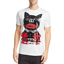 DSQUARED2 Year-Of-The-Pig Graphic Tee