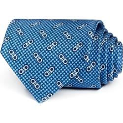 Salvatore Ferragamo Vintage Gancini Classic Silk Tie found on Bargain Bro UK from Bloomingdales UK