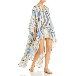 Cult Gaia Farah Silk & Linen Cover Up found on MODAPINS from bloomingdales.com for USD $428.00