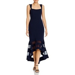Aqua Double-Strap Illusion Hem Midi Dress - 100% Exclusive found on MODAPINS from Bloomingdales UK for USD $254.34