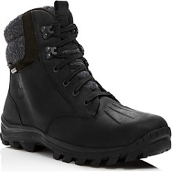 Timberland Men's Chillberg Waterproof Leather Cold Weather Boots found on Bargain Bro from bloomingdales.com for USD $114.00