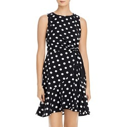 Adrianna Papell Dot Print Tied-Waist Dress found on Bargain Bro India from Bloomingdales Canada for $109.36