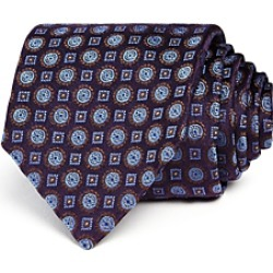 Canali Circle Square Medallion Classic Tie found on MODAPINS from Bloomingdale's Australia for USD $87.14