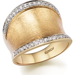 Diamond Wide Band in Matte 14K Yellow Gold, .30 ct. t.w. - 100% Exclusive found on Bargain Bro UK from Bloomingdales UK