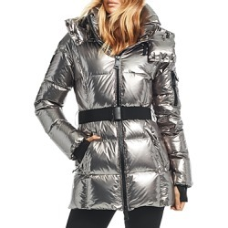 Sam. Soho Gunmetal Belted Down Coat found on Bargain Bro Philippines from bloomingdales.com for $475.00
