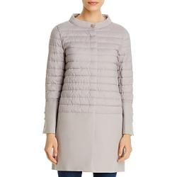 Herno Texture-Blocked Coat