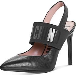 Moschino Women's Logo Slingback Pumps found on Bargain Bro India from Bloomingdale's Australia for $608.60