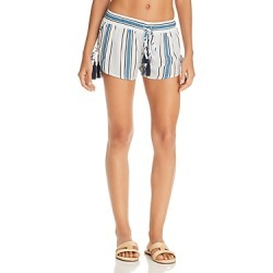 Surf Gypsy Printed Side Lace-Up Swim Cover-Up Shorts found on Bargain Bro Philippines from bloomingdales.com for $75.00