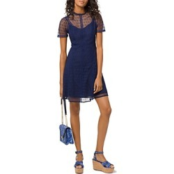 Michael Michael Kors Floral Lace Eyelet-Detail Dress found on Bargain Bro Philippines from Bloomingdale's Australia for $98.39