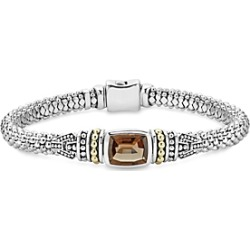 Lagos 18K Gold and Sterling Silver Caviar Color Bracelet with Smoky Quartz found on Bargain Bro India from Bloomingdales Canada for $728.98