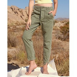 Amo Army Twist Split Hem Pants found on MODAPINS from bloomingdales.com for USD $275.00