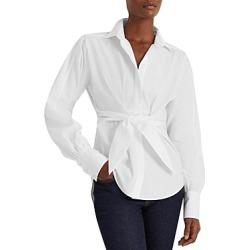 Lauren Ralph Lauren Tie Front Shirt found on Bargain Bro from bloomingdales.com for USD $51.01