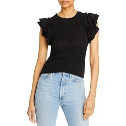 Goldie Ruffled Sleeve Tee found on MODAPINS from Bloomingdale's Australia for USD $111.29