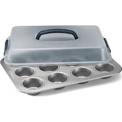 Calphalon Nonstick Covered Cupcake Pan found on Bargain Bro Philippines from Bloomingdales Canada for $36.93