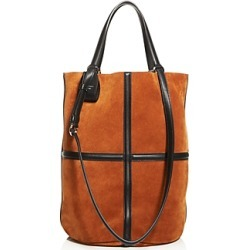Salvatore Ferragamo Fashion Show Suede Tote found on Bargain Bro UK from Bloomingdales UK