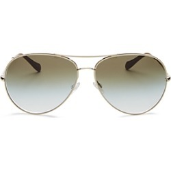 Oliver Peoples Women's Sayer Brow Bar Aviator Sunglasses, 63mm found on Bargain Bro Philippines from Bloomingdale's Australia for $457.25