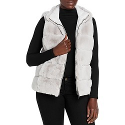 Via Spiga Reversible Grooved Faux Fur Vest found on Bargain Bro from Bloomingdales Canada for USD $104.14