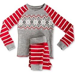 Pj Salvage Unisex Ski Tee & Ski Pants Pajama Set - Little Kid, Big Kid
