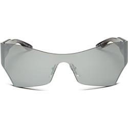 Balenciaga Women's Mirrored Shield Sunglasses, 99mm found on Bargain Bro India from Bloomingdale's Australia for $518.64