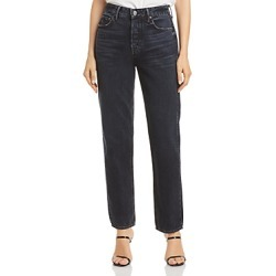 Grlfrnd Helena Straight Jeans in Santi found on MODAPINS from Bloomingdales Canada for USD $259.40