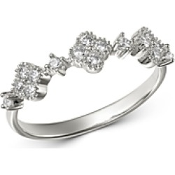 Bloomingdale's Diamond Clover Station Ring in 14K White Gold, 0.25 ct. t.w. - 100% Exclusive found on Bargain Bro India from Bloomingdales Canada for $996.46