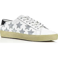 Saint Laurent Women's Star Leather Sneakers found on Bargain Bro Philippines from Bloomingdale's Australia for $576.86