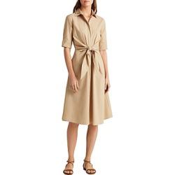 Lauren Ralph Lauren Tie Front Shirt Dress found on Bargain Bro India from bloomingdales.com for $37.43