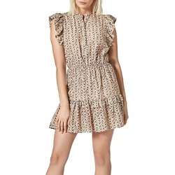 Joie Krystina Printed Ruffled Dress found on MODAPINS from bloomingdales.com for USD $191.40
