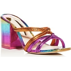 Sophia Webster Women's Freya Glitter Block-Heel Sandals found on Bargain Bro Philippines from bloomingdales.com for $164.93