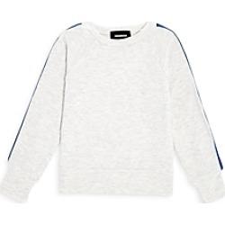 Monrow Girls' Rainbow Stripe Sweatshirt - Little Kid, Big Kid found on Bargain Bro from Bloomingdales Canada for USD $59.75