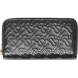 Burberry Monogram Leather Zip Around Wallet found on Bargain Bro Philippines from bloomingdales.com for $560.00