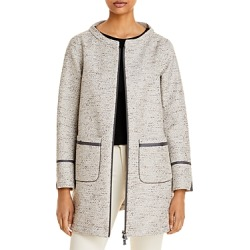 Herno Sequined Tweed Coat found on MODAPINS from Bloomingdales Canada for USD $856.32