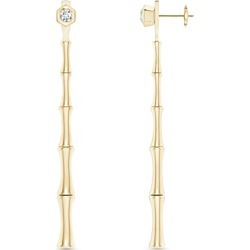 Natori 14K Yellow Gold Diamond Front Back Drop Earrings found on Bargain Bro India from bloomingdales.com for $1940.00