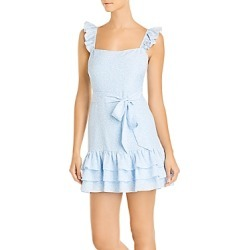 Likely Charlotte Ruffled Mini Dress found on MODAPINS from Bloomingdales Canada for USD $123.67