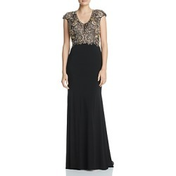 Aqua Embellished Bodice Gown - 100% Exclusive found on MODAPINS from Bloomingdales UK for USD $374.86