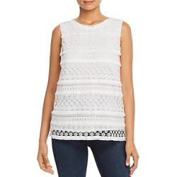 Nic+Zoe Petites Stars At Night Lace Tank found on Bargain Bro India from bloomingdales.com for $138.00