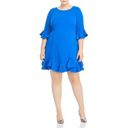 Adrianna Papell Plus Ruffle Trimmed Dress found on Bargain Bro India from Bloomingdales Canada for $93.74