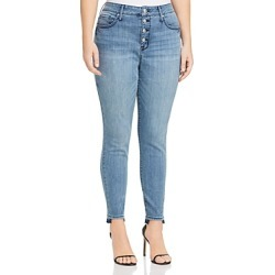 Seven7 Jeans Plus High Rise Skinny Jeans in Silence