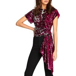 Alice McCall Electric Orchid Sequined Top found on MODAPINS from Bloomingdale's Australia for USD $146.64