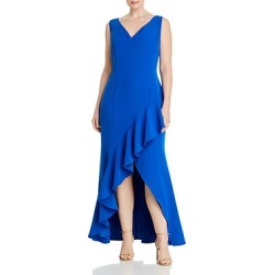 Adrianna Papell Plus Asymmetrical Ruffled Dress found on MODAPINS from Bloomingdales UK for USD $164.82