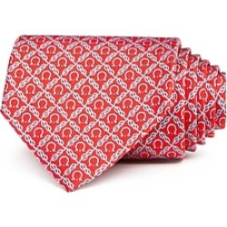 Salvatore Ferragamo Roped Gancini Silk Classic Tie found on Bargain Bro India from Bloomingdales Canada for $199.35